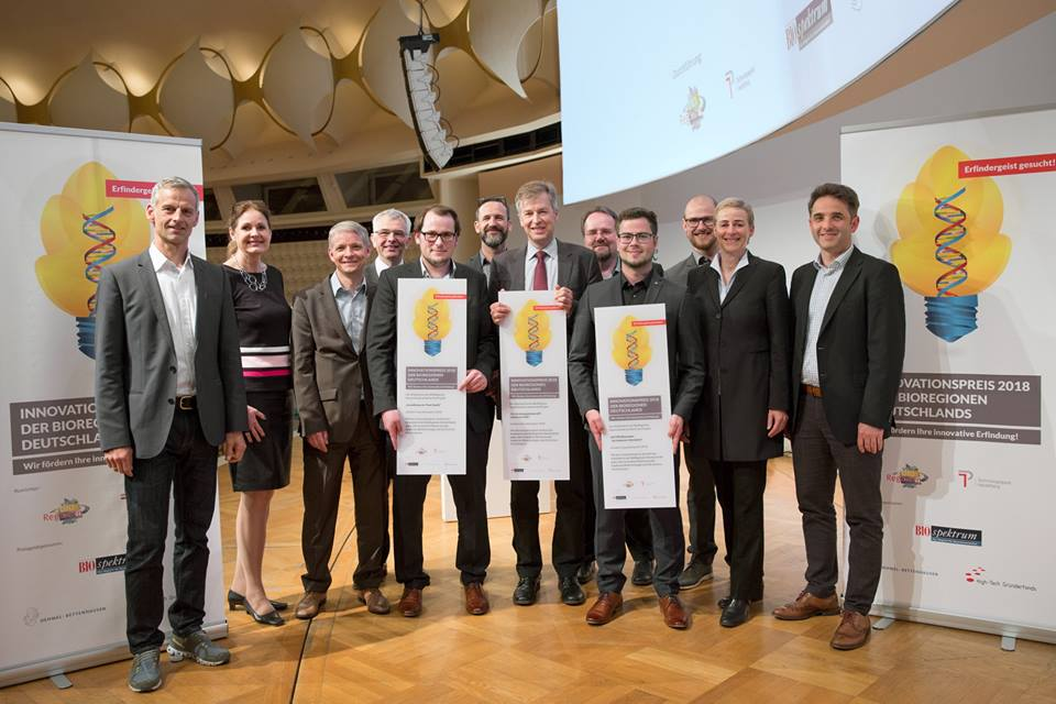 AUCTEQ receives Innovation Award of the Bioregions